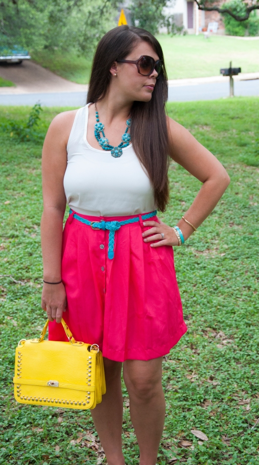 All That Glitters: Pink and Teal