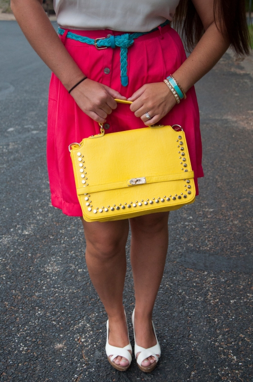 All That Glitters: Pink, Teal, and Yellow2