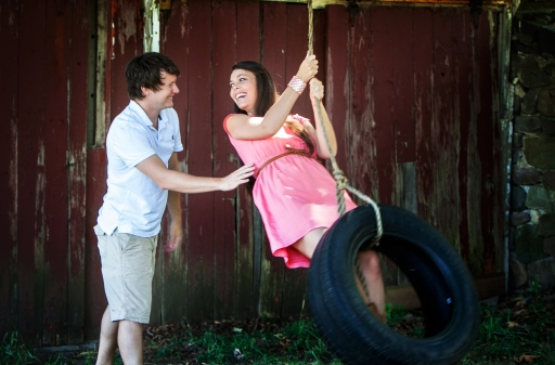 Tire swing Engagement Pic