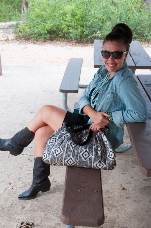 Chambray and Boots11