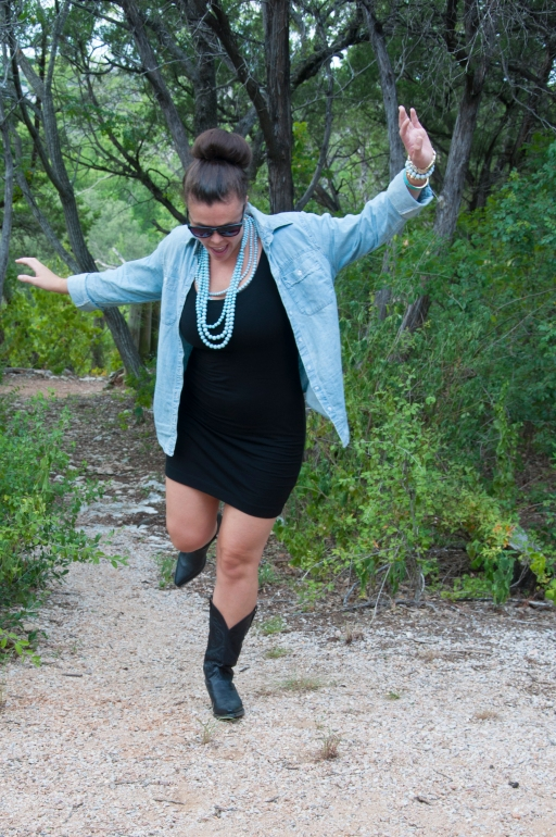 Chambray and Boots12