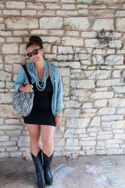Chambray and Boots7