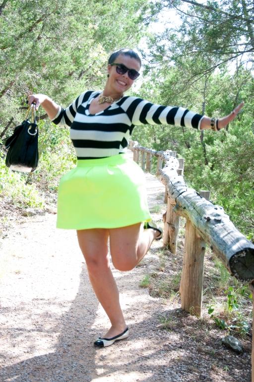 Lulu's Neon skirt