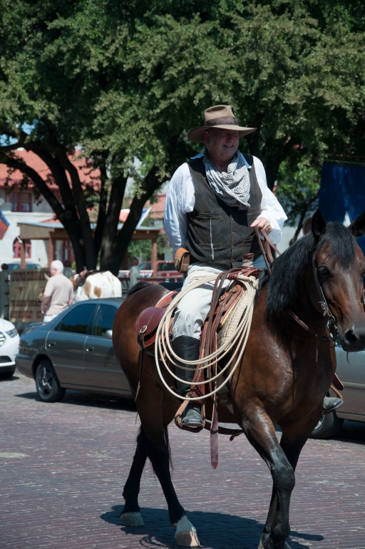 Fort Worth Stockyards Cowboy
