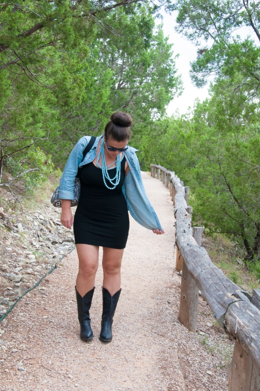 Chambray and Boots