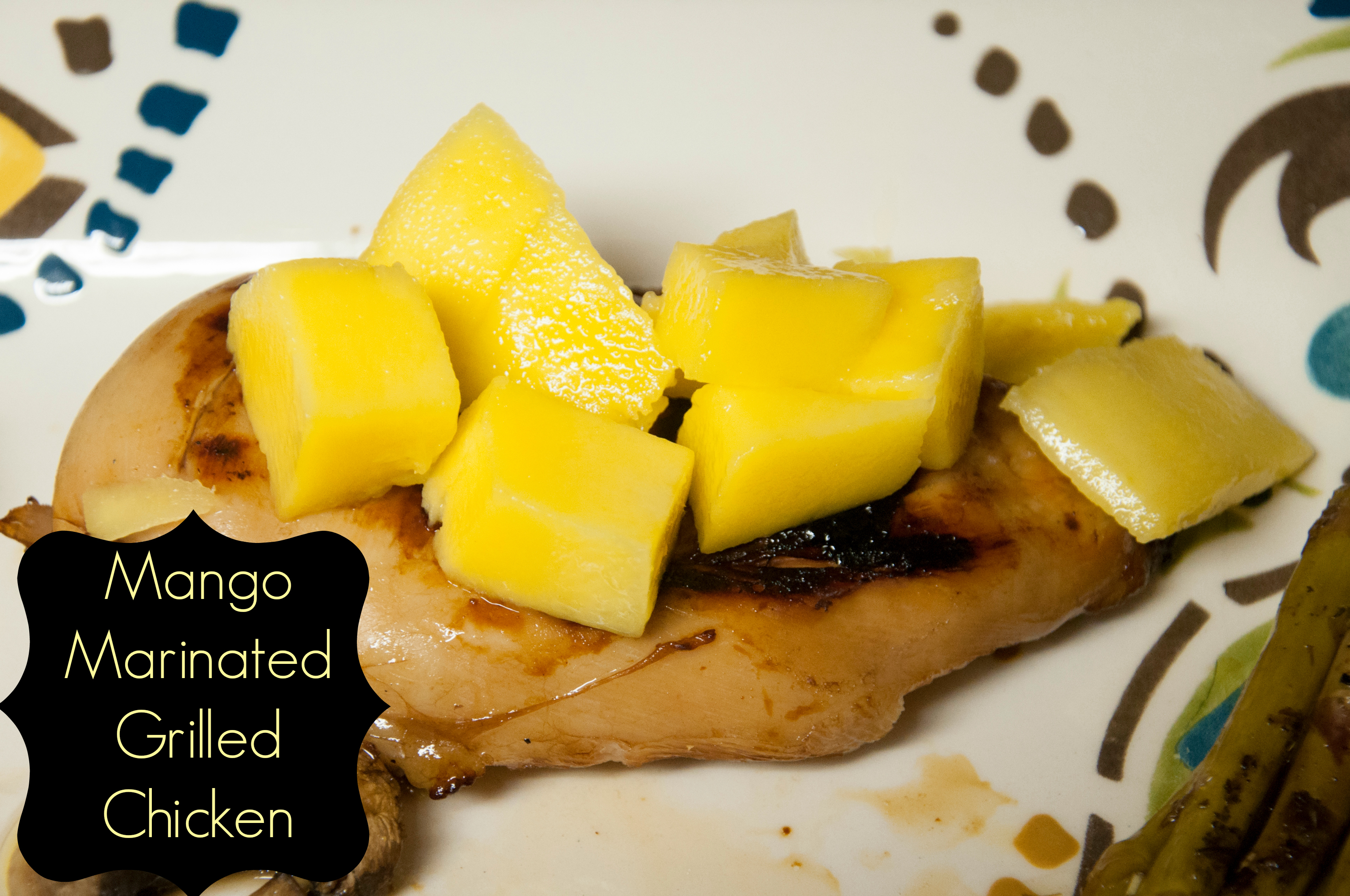 Balsamic-Mango Marinated Chicken | All That Glitters