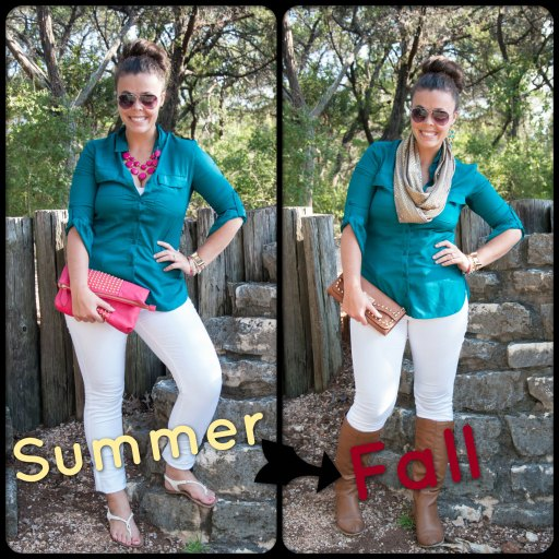 SummerToFallCollage