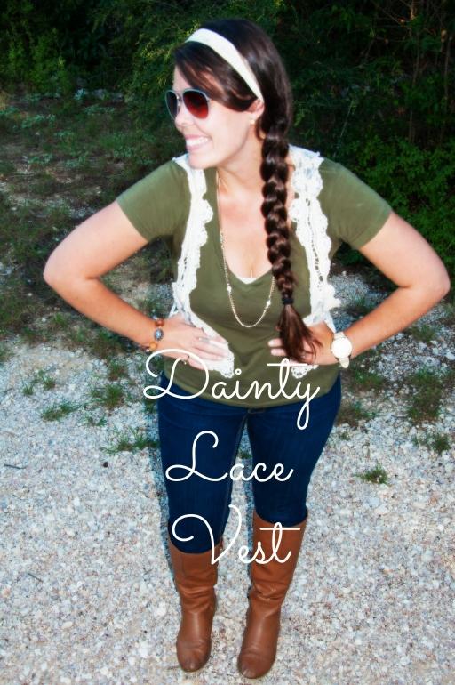 Dainty Lace Vest