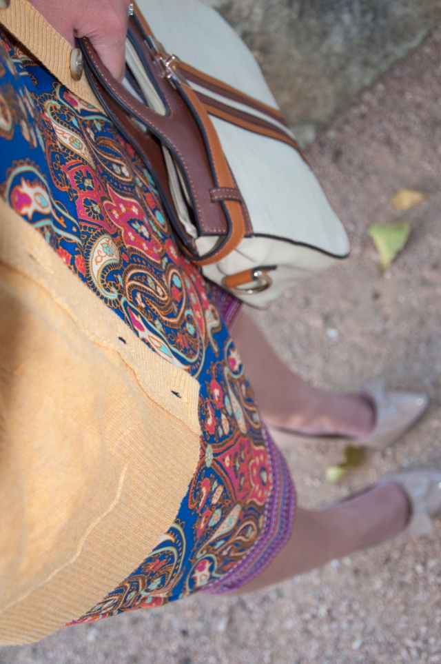 Cobalt skirt from Target
