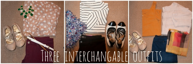 Three Interchangable Outfits