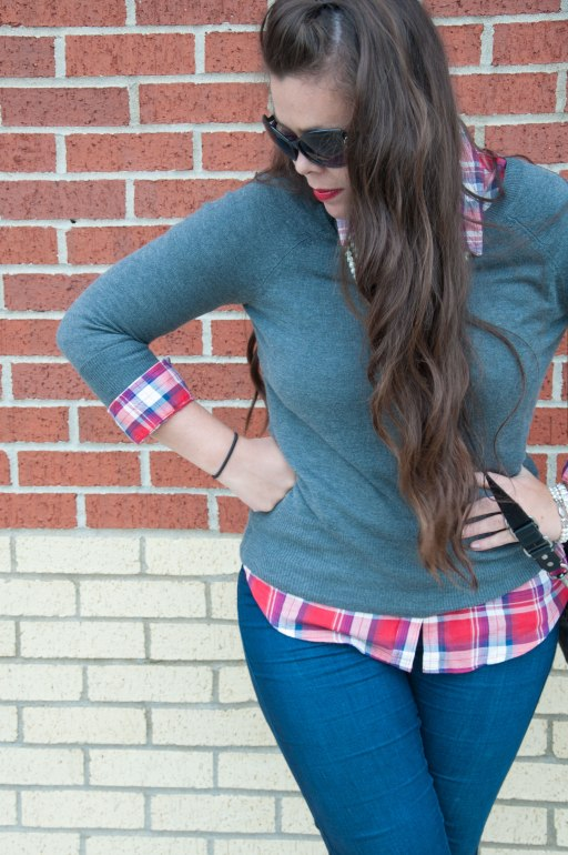 All That Glitters: Plaid with Pearls